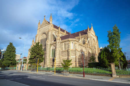 St Marys Cathedral in downtown Perth Australia Stock Photo