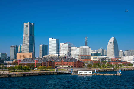 Cityscape of  Yokohama in Japan Stock fotó