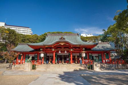 Ikuta-jinjya shrine It is a shrine in Kobe city Japan Editorial