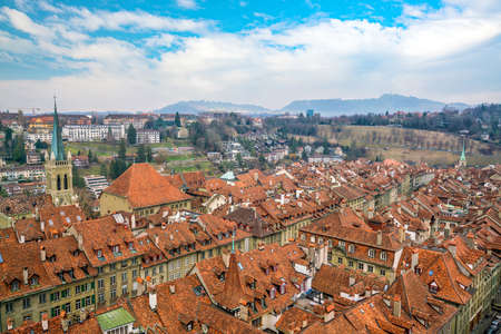 Old Town of Bern, capital of Switzerland in Europe Banque d'images - 126114469