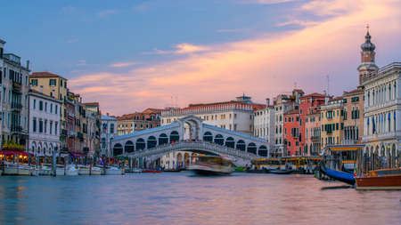 Cityscape image of Venice, in Italy during sunrise with Gondolas Reklamní fotografie