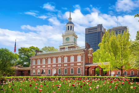 Independence Hall in Philadelphia, Pennsylvania USA Redakční