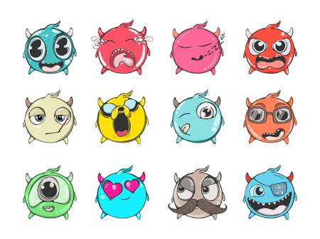 smileys: Cartoon Emoji Set