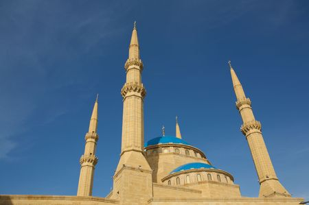 Image of Mohammad al-Amin on a blue sky backgound