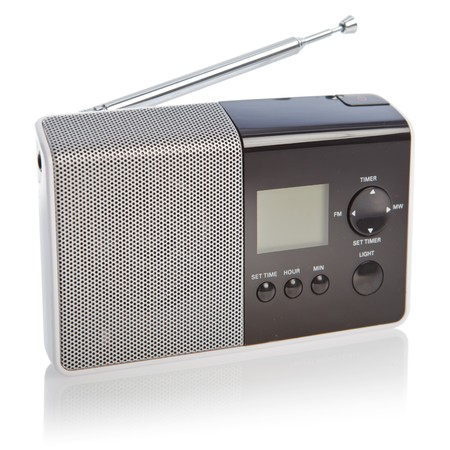 radio frequency: Modern radio transmitter isolated