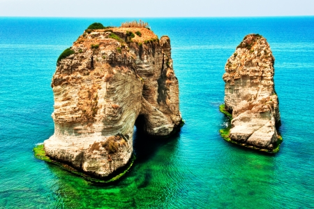 A landmark of Beirut and a very popular destination for both locals and tourists