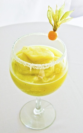 A delicious banana margharita, refreshing and tasty Stock Photo - 15614642