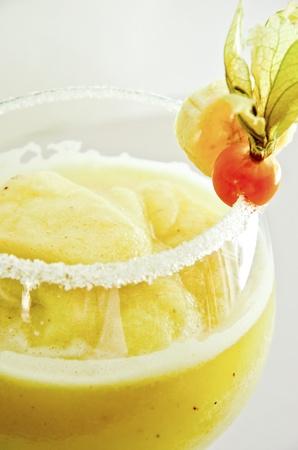 A delicious banana margharita, refreshing and tasty  Stock Photo - 15614645