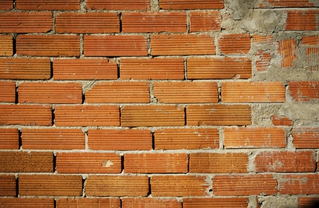 A wall with red bricks Stock Photo - 15730260