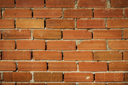 A wall with red bricks Stock Photo - 15730247