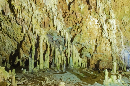 The magnificent and majestic caves of Diros in Greece Stock Photo - 20050429