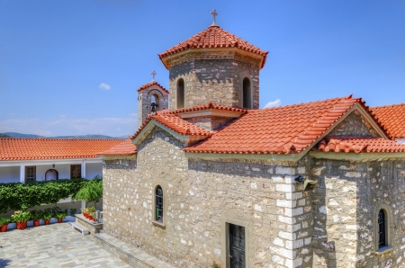 The monastery of Panayia Malevi, in Greece. photo