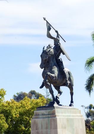 El Patio: The Statue Of El Cid, Rodrigo DÃaz De Vivar, A Spanish