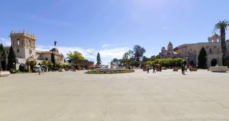 El Patio: The Courtyard, Plaza De Panama Around The Casa Del Prado And  Museum