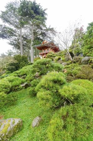 The Japanese Tea Garden in Golden Gate Park in San Francisco, California, United States of America. photo
