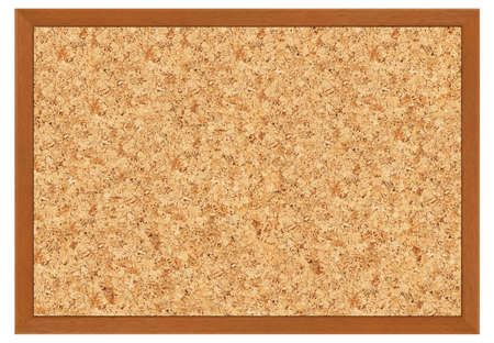 brown cork: cork board with frame