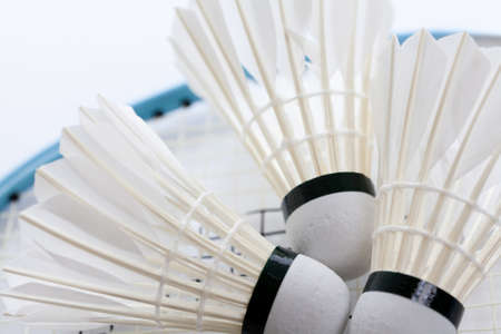 Badminton balls photo