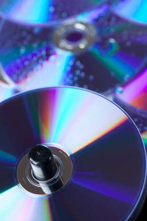 DVD close up