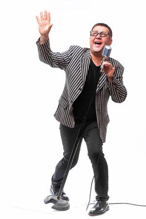 the showman: Midle age showman
