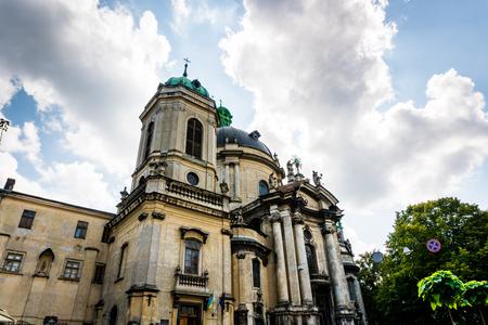 Lviv, Ukraine - 28 July 2016. Lviv like a point of travel destination.