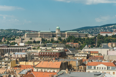 arhitect: Budapest, Hungary - 15 August 2016. View of capital arhitect