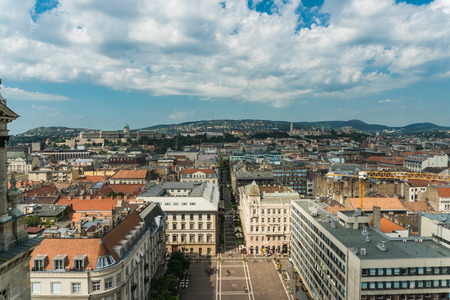 Budapest, Hungary - 15 August 2016. View of capital arhitect
