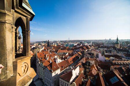 13 November 2016, Prague, Chezh Republic. View of Prague like a point of turistic destinations
