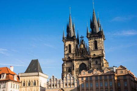 turistic: View of Prague like a point of turistic destinations