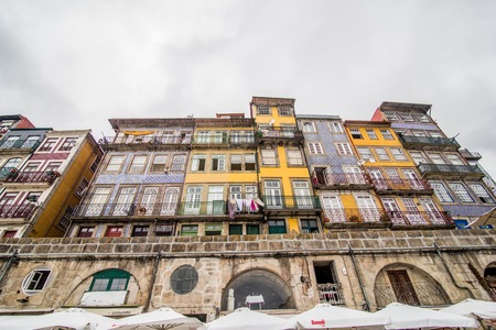 ribeira: Ribeira, the old town of Porto, Portugal