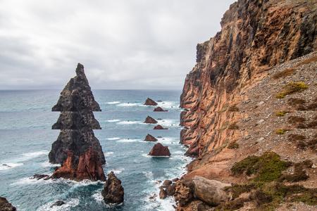 Ponta de Sao Lourenco view, Madeira, Portugal Zdjęcie Seryjne