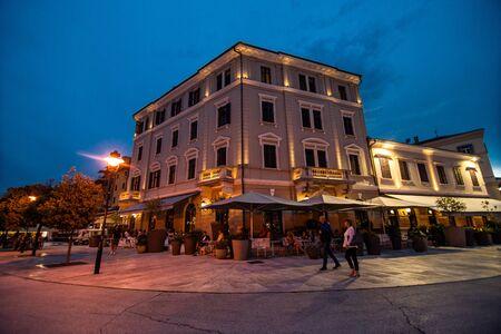 ROVINJ, CROATIA - July, 2019 The old town of Rovinj Reklamní fotografie