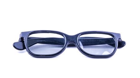 eye wear: las gafas de sol en el fondo blanco ideal para los lentes y saludable Foto de archivo