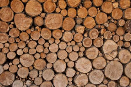 particolare: particolare di legname pronto per essere masterizzato