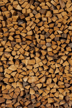 particular of lumber ready to be burned photo