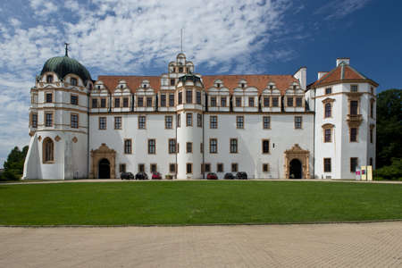 The renaissance style castle in Celle, Lower Saxony, Germany
