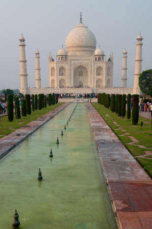 Taj Mahal, mausoleum erected by Shah Jahan, mughal Emperor, in honor of his wife Mumtaz Mahal photo