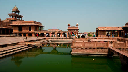 fatehpur: Fatehpur Sikri ancient capital of the  Moghul Emperors, Now an Unesco world heritage site