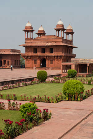 Fatehpur Sikri ancient capital of the  Moghul Emperors, Now an Unesco world heritage site