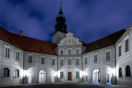 The Residenz,  the royal palace of the Wittelsbach  the bavarian monarchs  Situated in the center of Munich  Фото со стока