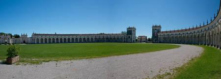 manin: Villa Manin, one of the most beautiful venetian villas in Friuli-Venezia Giulia, situated near Codroipo.