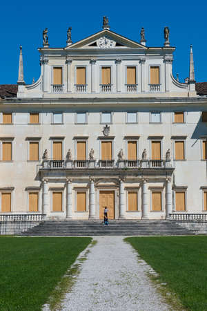 Villa Manin, one of the most beautiful venetian villas in Friuli-Venezia Giulia, situated near Codroipo.