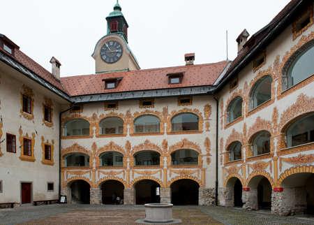 slovenian: Castle in Idrija, ancient slovenian city.