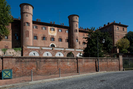 The castle of the royal house of Savoy in Moncalieri, an Unesco world heritage site since 1997.