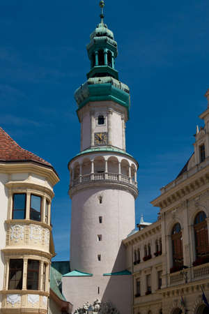 The Firewatch tower in the old town of Sopron is the symbol of this hungarian town.