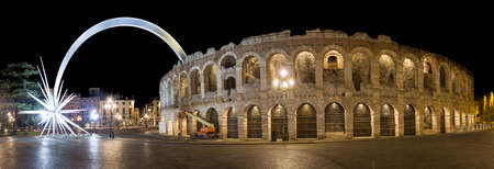 amphitheatre: The roman amphitheatre of Verona, also called arena. Famous for its opera festival