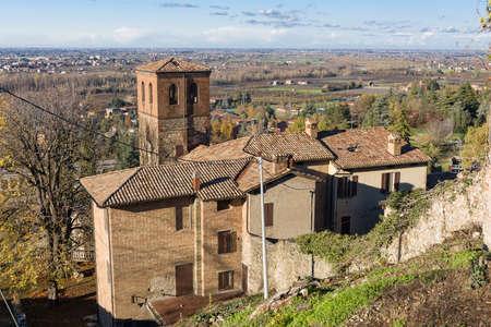 emilia: Ancient medieval village of Savignano sul Panaro, in Emilia Romagna