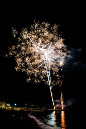 celebrate: Fireworks to celebrate the patron saint of Noli