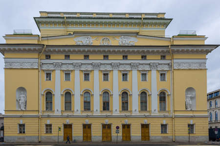 Alexandrinsky Theater also known as Russian State Pushkin Academy Drama Theater