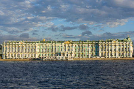 The winter palace, part of the Hermitage museum in Saint Petersburg Editorial