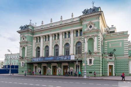 Opera and ballet theater in Saint Petersburg